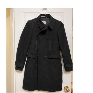 Aritzia Wilfred Black Wool Coat Sz M